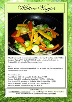 Wildtree Veggies - Miriads of flavorings www.MyWildtree.com/maryrose
