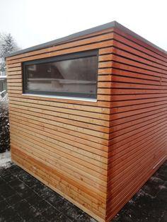 Gartenhaus S5 - 3,1 x 2,5 m - Wuppertal | S5 (3 x 2 m) | Naturhouse CZ - moderne Gerätehäuser