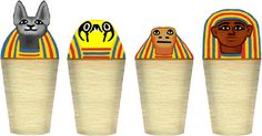Canopic Jars - Ancient Egypt for Kids