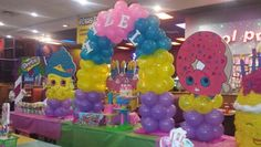 Newest Screen My daughter Itzel Shopkins party. Newest Screen My daughter Itzel Shopkins party. Shopkins decorations Thoughts Your infant is def Shopkins Decorations, Shopkins Candy Table, Shopkins Bday, Barbie Birthday, Diy Birthday, Birthday Parties, Birthday Ideas, Candyland, Troll Party