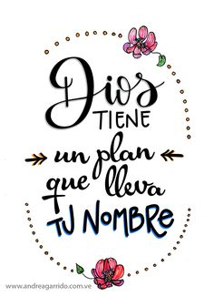 ideas for quotes god plan Motivational Phrases, Inspirational Quotes, Bible Quotes, Bible Verses, God Loves You, Spanish Quotes, Quotes About God, Dear God, God Is Good