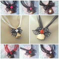 """Trachtenschmuck - ♥ Trachten Kette ♥ """"Glöckchen"""" 5-450 schwarz - ein Designerstück von ikimmis-passion bei DaWanda"""