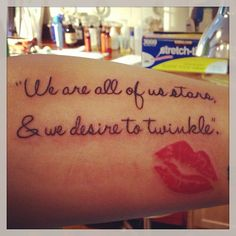 Marilyn Monroe Quote Tattoos Foot