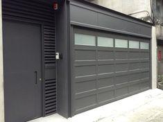 O'Leary stacking garage doors - modern - garage doors - other metro - YI CHENG DOORS CO., LTD