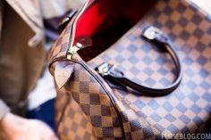 Louis Vuitton Damier Ebene Speedy 35 with strap f9a8ef974407f