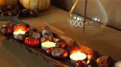 herfst decoratie in huis