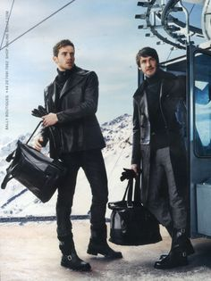Robert Konjic for Bally