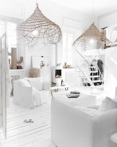 New Wall Design Luxury Decor Ideas Living Room White, White Rooms, Living Room Decor, Decor Room, Small Living, Bedroom Decor, Wall Decor, Living Room Inspiration, Home Decor Inspiration