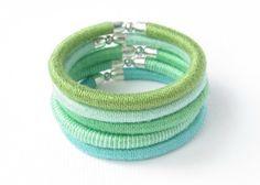 friendship bracelet, thread bracelet, thread wrapped bracelet, yarn textile bracelet, fiber bracelet, trendy jewelry, knit bracelet