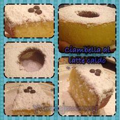 La ricetta facilissima della torta al latte caldo con bimby Sweet, Facebook, Candy