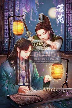 My Junhao Fanart - 落花 (Falling flowers/Hoa rơi) Order link: Kpop Fanart, Seventeen The8, Carat Seventeen, Love Art, My Love, Meanie, T Art, Anime Fairy, Woozi