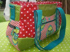 Schnabelina Bag O'Malleys Sticheleien: Schnabelina Bag mit Flora Fox Stoff freebook