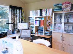Josephine Kimberling Sewing Room