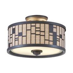 DVI Lighting DVP10811 Lisbon Semi Flush Mount Ceiling Light