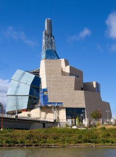I'm all about Western Canada!  The Human Rights Museum in Winnipeg