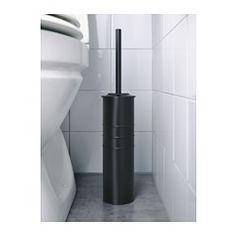 IKEA - SVARTSJÖN, Toiletbørste, Børsten kan udskiftes – behold grebet, og kombiner det med LOSSNEN ekstra børste.