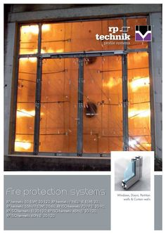 Germany Deutsch & RP Technik offers fire protection systems and smoke protection ...