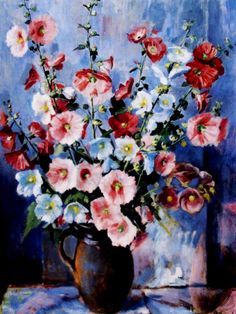 Paintings - Margaret Hannah Olley - Page 6 - Australian Art Auction Records Australian Painters, Australian Artists, Art Spaces, Visual And Performing Arts, Bouquet, Acrylic Flowers, Roman Art, Still Life Art, Paintings I Love