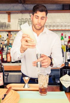 You should probably try this at home. http://www.thecoveteur.com/gin-tonic-cocktail-recipe-the-standard/