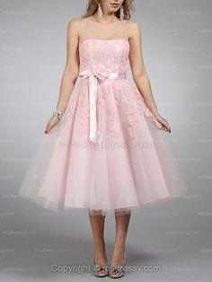 fcfa2f7b4c9 Cute pink dress. Pink Wedding Dresses