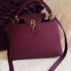 Louis Vuitton capucine BB Not for sale ❌ but I want to share with you guys my new baby Louis Vuitton Bags Crossbody Bags