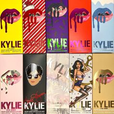 Which limited edition lip kit was your favorite? 😍 #ThrowbackThursday with some of @cassydaraiche's collection lip kits! 💄 Kylie Jenner Lipstick, Kylie Jenner Makeup, Kyle Jenner, Summer Makeup Looks, Kylie Cosmetic, Aesthetic Songs, Lip Kit, Makeup Cosmetics, Cute