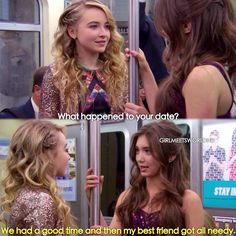 "#GirlMeetsWorld 1x20 ""Girl Meets First Date"" - Maya and Riley"