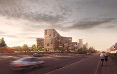 New offices in Copenhagen by aarhus arkitekterne #kalvebodbrygge #danisharchitecture #scandinavianarchitecture #office #aarhusarkitekterne