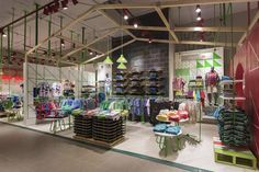 Paris Kids department by Dalziel and Pow, Santiago Chile store design
