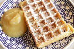 Buttermilk Waffles ~ Living on Cookies