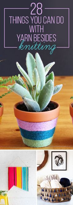 28 Super Easy Yarn DIYs That Require Zero Knitting
