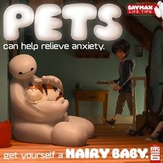 Baymax Life Tip #3 - Essential Tips From The Most Huggable Healthcare Companion.
