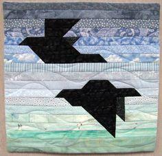 Patternless Flight by Gigi Khalsa tutorial on the Quilters Newsletter blog