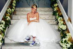 Converse Bride by Blue Box Photos, via Flickr