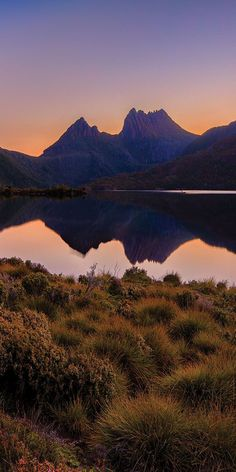 Cradle Mountain at dusk - by Paul Pichugins Mountain Photography, Landscape Photography, Nature Photography, Cradle Mountain Tasmania, Round Trip, Travel News, Mountain Landscape, Australia Travel, Historical Sites