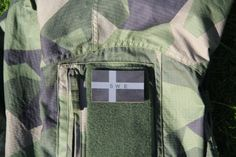 Subdued IR Patch Swedish Flag