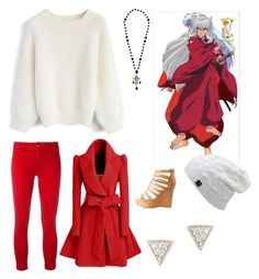 """""""INUYASHA"""" by elysse-florence-bennett on Polyvore featuring Chicwish, J Brand, WithChic, Dolce&Gabbana, Charlotte Russe and Adina Reyter"""