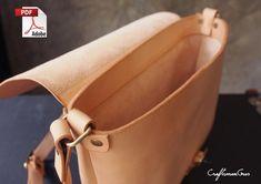 Diy Leather Purse Pattern, Diy Leather Tote Bag, Small Leather Bag, Leather Saddle Bags, Leather Bags Handmade, Leather Tooling, Leather Purses, Leather Handbags, Messenger Bag Patterns