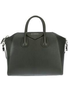 Givenchy Antigona medium tote green | Home Femme Givenchy sac 'Antigona'