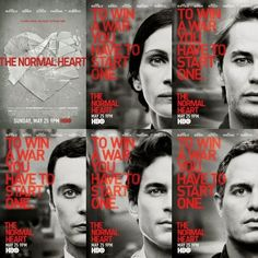#TheNormalHeart                                    A gay activist attempts to raise HIV/AIDS awareness during the early 1980s. Great HBO movie.
