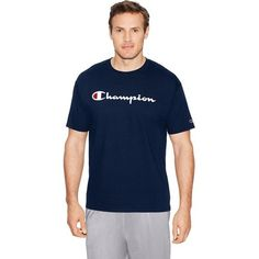 aa96f80af5d Champion Men s Script Graphic T-shirt. Hover Click to enlarge