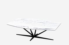 Agave Marble Coffee Table - Contemporary Mid-Century / Modern Coffee & Cocktail Tables - Dering Hall