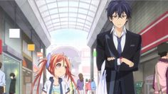Black Bullet Episode 2 - I thought that this episode was a significant improvement over the first one. Black Bullet, Sword Art Online, Online Art, 2014 Anime, Kaito Shion, Cute Anime Couples, Cosplay, Manga, Pretty