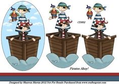 CDS52 Pirates Ahoy  on Craftsuprint - Add To Basket!