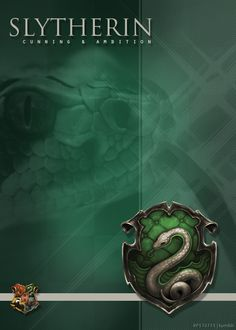 Slytherin - Cunning & Ambition