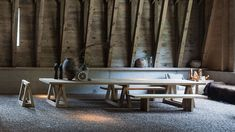 WG mit vier Hufen - DEAR Wohnen - Projekte | dear-magazin.de Israel, Dining Bench, Furniture, Home Decor, Weekend House, Architecture, Projects, Homes, Dining Room Bench