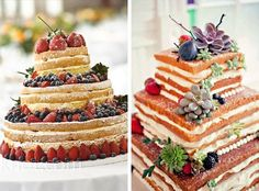new trends in layer cakes | Naked or Iced – A Wonderful Choice of Wedding Cakes