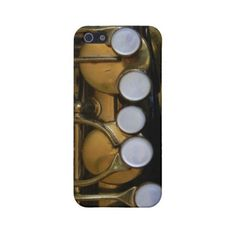 Saxophone Cover for iPhone Cover For Iphone 5 ($32) ❤ liked on Polyvore featuring accessories, tech accessories, iphone sleeve case, apple iphone cases, iphone cases and iphone cover case
