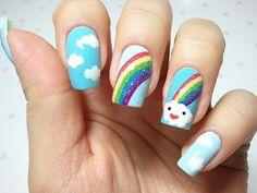 16 Diseños Kawaii que tienes que probar en tus uñas