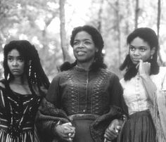 Still of Oprah Winfrey, Kimberly Elise and Thandie Newton in Beloved
